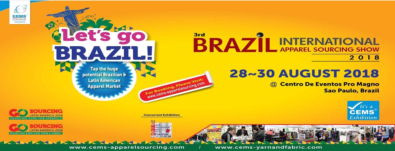 3rd Brazil International Apparel Sourcing Show 2018