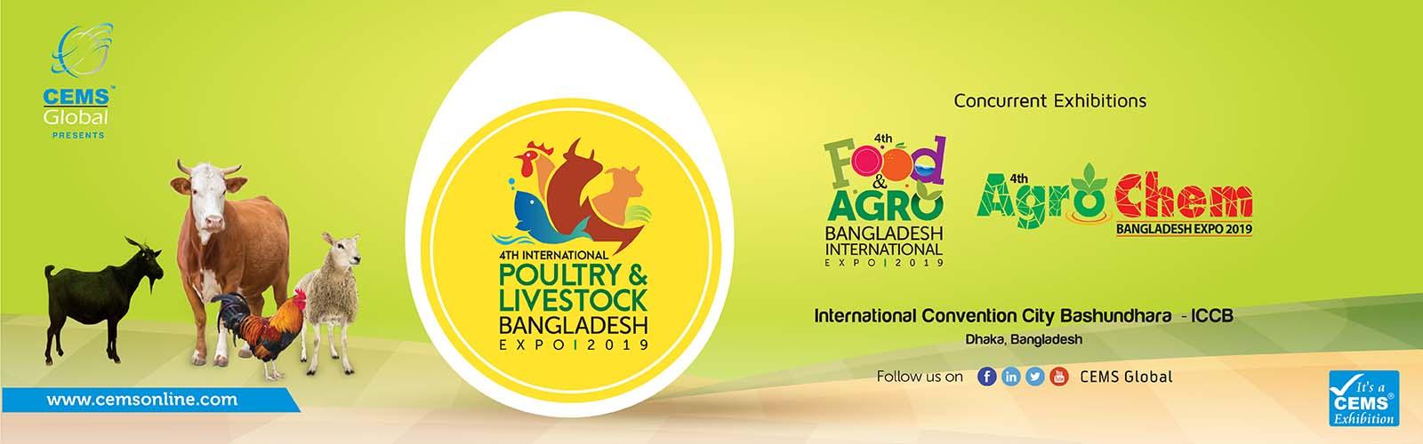 4th Poultry & Livestock Bangladesh International Expo 2019