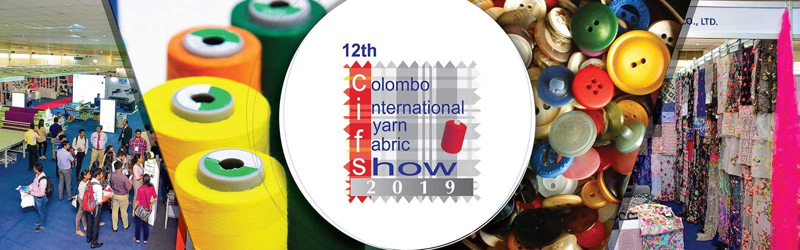 12th Colombo International Yarn & Fabric Show 2019 – Sri Lanka