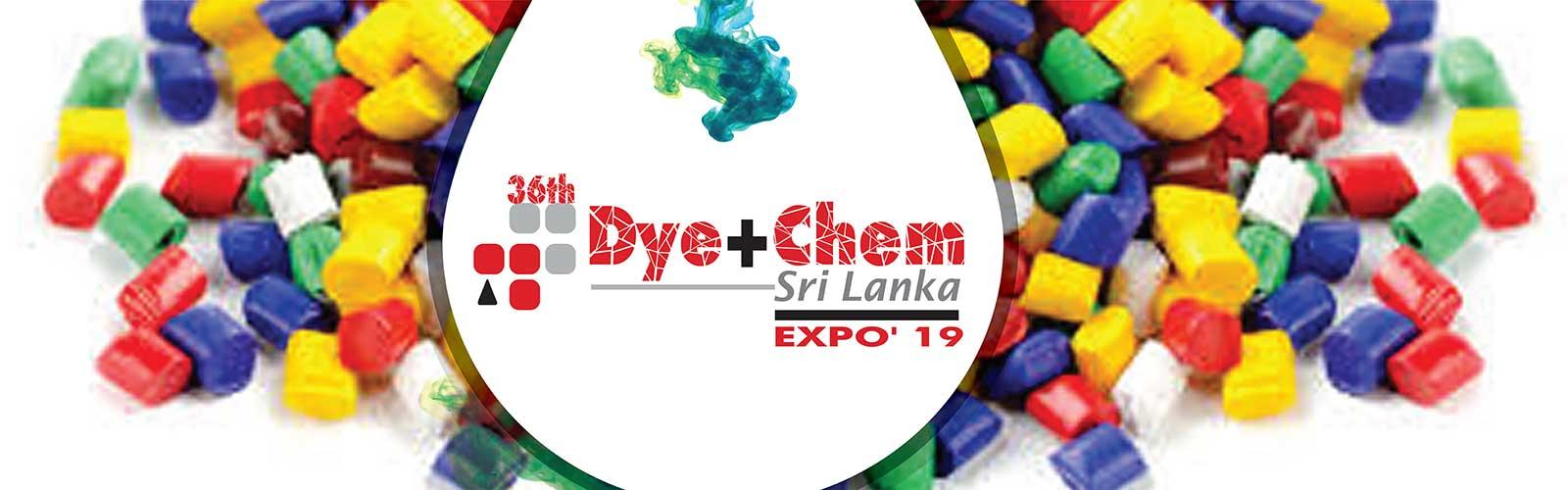36th  Dye+Chem Sri Lanka 2019 International Expo