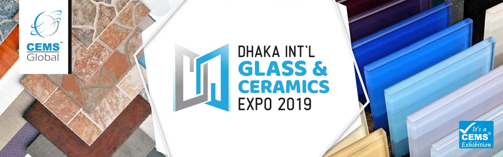 Dhaka International Glass & Ceramics Expo 2019
