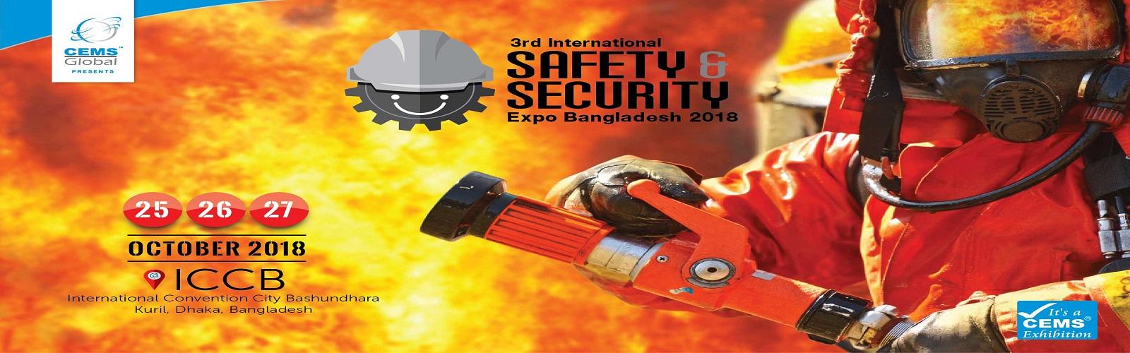 3rd International Safety & Security Expo Bangladesh 2018