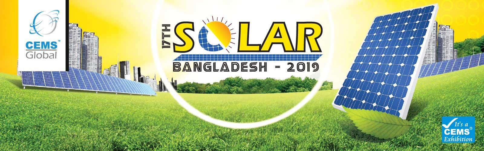 17th Solar Bangladesh 2019 International Expo